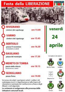 24 aprile 2015 ANPI Medio Friuli