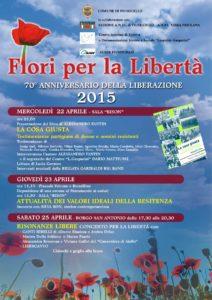 Fiumicello-Fiori per la Libertà 2015