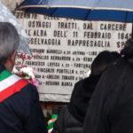 Foto della cerimonia del 14 febbraio 2016 in Cimitero di Udine