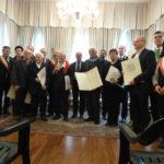Cerimonia di consegna delle Medaglie per il 70 anniversario-Udine 4 maggio 2017
