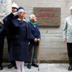 Immagini dell'inaugurazione della lapide alla Risiera di San Sabba 18.05.2019