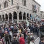 Foto della cerimonia del 25 aprile 2019 a Udine