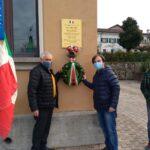 Immagini della cerimonia statica a Loneriacco di Tarcento del 12 dicembre 2020